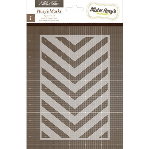 American Crafts - Studio Calico - Here and There Collection - Stencils Mask - V-Pattern