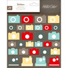 Studio Calico - Snippets Collection - Chipboard Stickers - Cameras