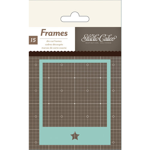 American Crafts - Studio Calico - Snippets Collection - Polaroid Frames - Cardstock