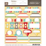 American Crafts - Studio Calico - Snippets Collection - Cardstock Stickers