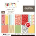 American Crafts - Studio Calico - Snippets Collection - 6 x 6 Paper Pad