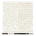 Studio Calico - Classic Calico Collection - 12 x 12 Cardstock Stickers - Alphabet