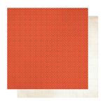 American Crafts - Studio Calico - Autumn Press Collection - 12 x 12 Double Sided Paper - Scarf