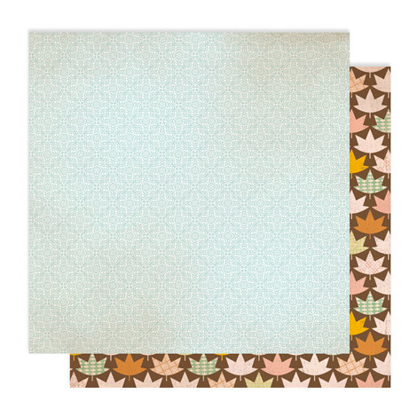 American Crafts - Studio Calico - Autumn Press Collection - 12 x 12 Double Sided Paper - Bundle