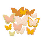 Studio Calico - Autumn Press Collection - Chipboard Shapes - Butterflies