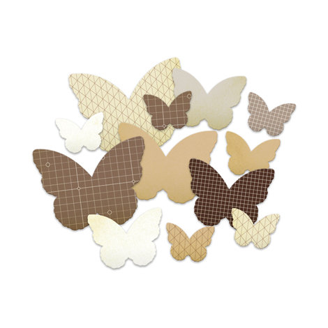 Studio Calico - Classic Calico Collection - Chipboard Shapes - Butterflies