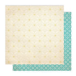 Studio Calico - Memoir Collection - 12 x 12 Double Sided Paper - Wallpaper