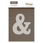 American Crafts - Studio Calico - Mister Huey's Color Mist - Stencils Mask Set - Ampersand