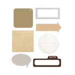 Studio Calico - Classic Calico Collection - Self Adhesive Scrap Pads