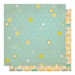 Studio Calico - Countryside Collection - 12 x 12 Double Sided Paper - Betsy