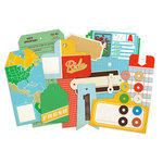 Studio Calico - State Fair Collection - Die Cut Cardstock Pieces - Tags