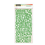 Studio Calico - State Fair Collection - Cardstock Stickers - Alphabet - Green