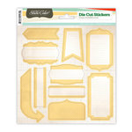 Studio Calico - State Fair Collection - Cardstock Stickers - Labels - Yellow