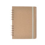 SEI - 7 x 5 Spiral Bound Journal - Kraft