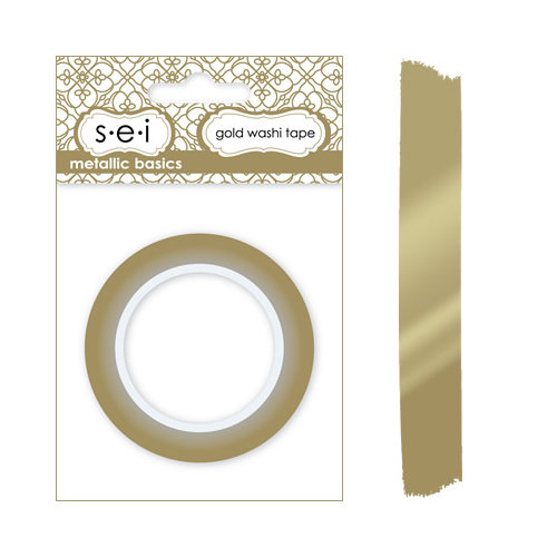 SEI - Metallic Basics - Washi Tape - Gold