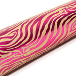 SEI - 12 x 12 Craft Paper with Foil Accents - Hot Pink Zebra