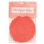 SEI - Colored Doilies - Red Papaya
