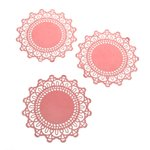 SEI - Colored Doilies - Light Pink