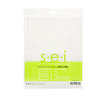 SEI - Noteworthy Jr Collection - 6 x 8 Page Protectors with Two 3 x 4 Pockets and One 4 x 6 Pocket - 6 Pack