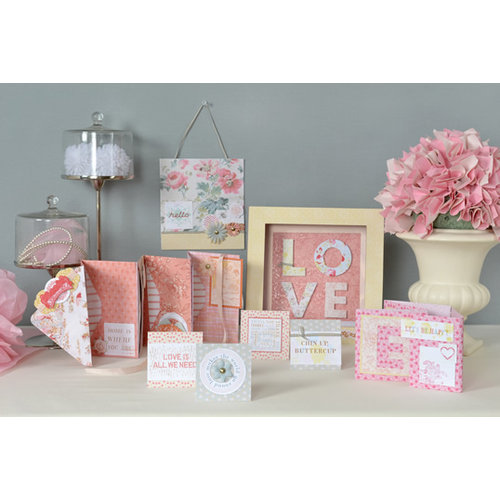 SEI - Promise Me Shadow Box and Envelope Album Class Kit - Window to My Love