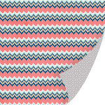 SEI - Forever Sassy Collection - 12 x 12 Double Sided Paper with Foil Accents - Very Daring