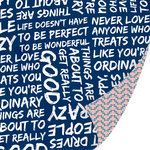 SEI - Forever Sassy Collection - 12 x 12 Double Sided Paper with Foil Accents - Good Vibes