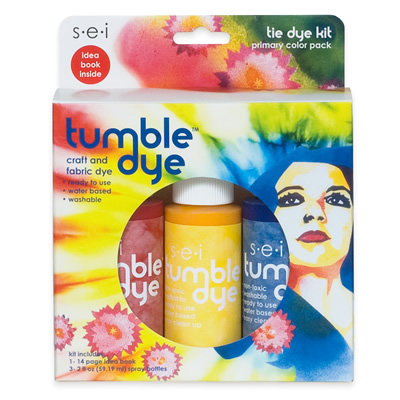 Sei tumble dye tie dye kit primary for Sei crafts tumble dye