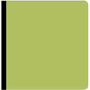 SEI Preservation Series Albums - 8 x 8 - Green