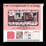 SEI  - Scrapbook in a Bag - 6 x 6 - Sweetie