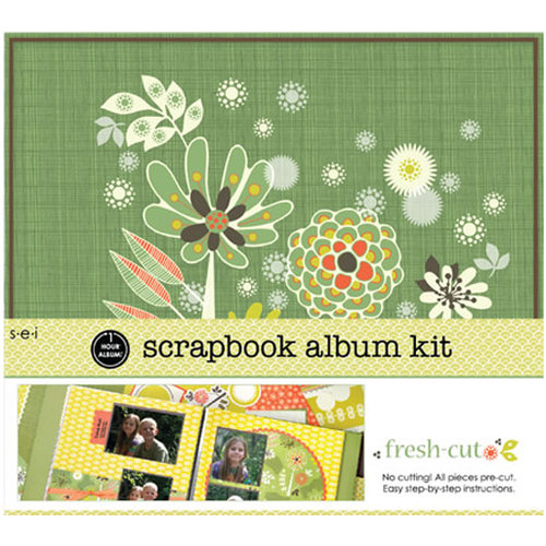 SEI - Scrapbook in a Box Kit - 12 x 12 - Fresh Cut
