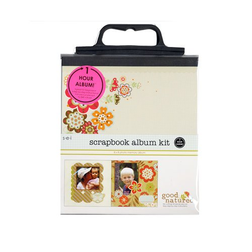 SEI - Scrapbook in a Bag Kit - 8 x 8 - Good Natured