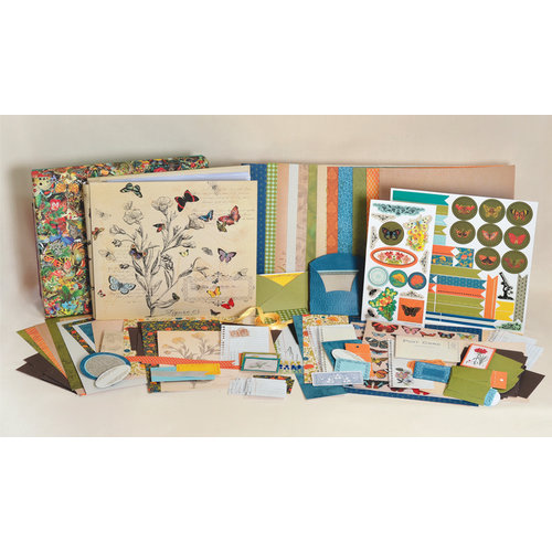 SEI - Field Notes Collection - Scrapbook in a Box Kit - 12 x 12