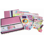 SEI - Ally's Wonderland Collection - 12x12 Scrapbook In a Box, CLEARANCE