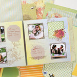 SEI - Brentwood Collection - Scrapbook in a Box Kit - 12 x 12