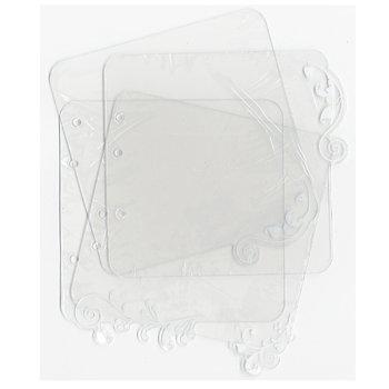 SEI - Clear Acrylic Album - Scrolls