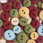 SEI - Doodley-Doo Holiday - Buttons - Christmas, CLEARANCE