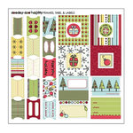 SEI - Doodley-Doo Holiday - Frames Tabs and Labels - Christmas, CLEARANCE