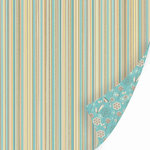 SEI - Dill Blossom Collection - 12x12 Double Sided Textured Paper - Myrrh