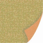 SEI - Dill Blossom Collection - 12x12 Double Sided Textured Paper - Dill Seed, CLEARANCE