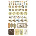SEI - Dill Blossom Collection - Epoxy Essentials Stickers, CLEARANCE