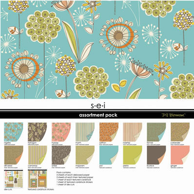 SEI - Dill Blossom Collection - Assortment Pack