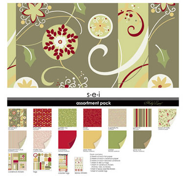SEI - Holly Lane Collection - Christmas - Assortment Pack