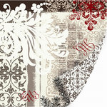 SEI - Alpine Frost Collection - 12x12 Double Sided Textured Foil Paper - Christmas - Alpine Frost