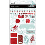 SEI - Winter Song Collection - Epoxy Stickers