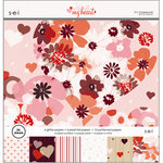 SEI - With All My Heart Collection - Valentine - 12 x 12 Paper Pad