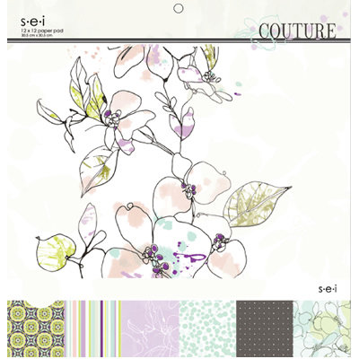 SEI - Couture Collection - 12 x 12 Paper Pad - Two