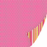 SEI - Sunny Day Collection - 12 x 12 Double Sided Pink Foil Paper - Garden Gloves