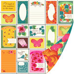 SEI - Sunny Day Collection - 12 x 12 Double Sided Perforated Paper - Garden Variety