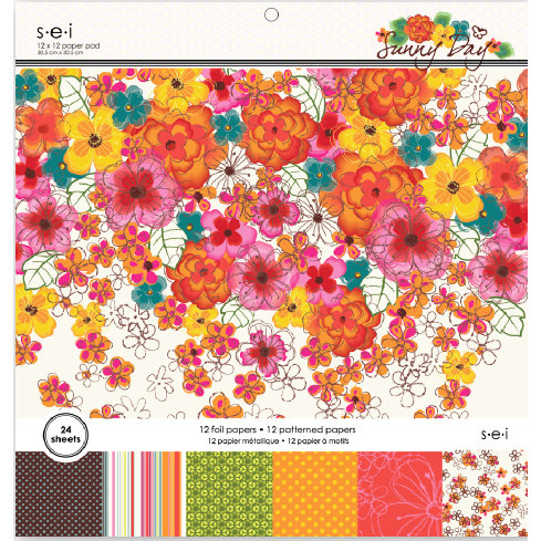 SEI - Sunny Day Collection - 12 x 12 Paper Pad