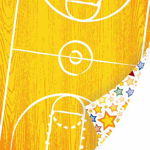 SEI - I'm an Athlete Collection - 12 x 12 Double Sided Paper - Court